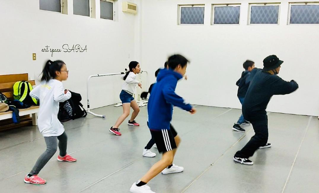 荒川区田端の総合ダンススクール「art space SARA」 SHIKIクラス