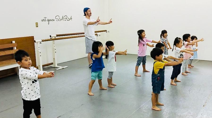 荒川区田端の総合ダンススクール「art space SARA」 石田顕慈クラス