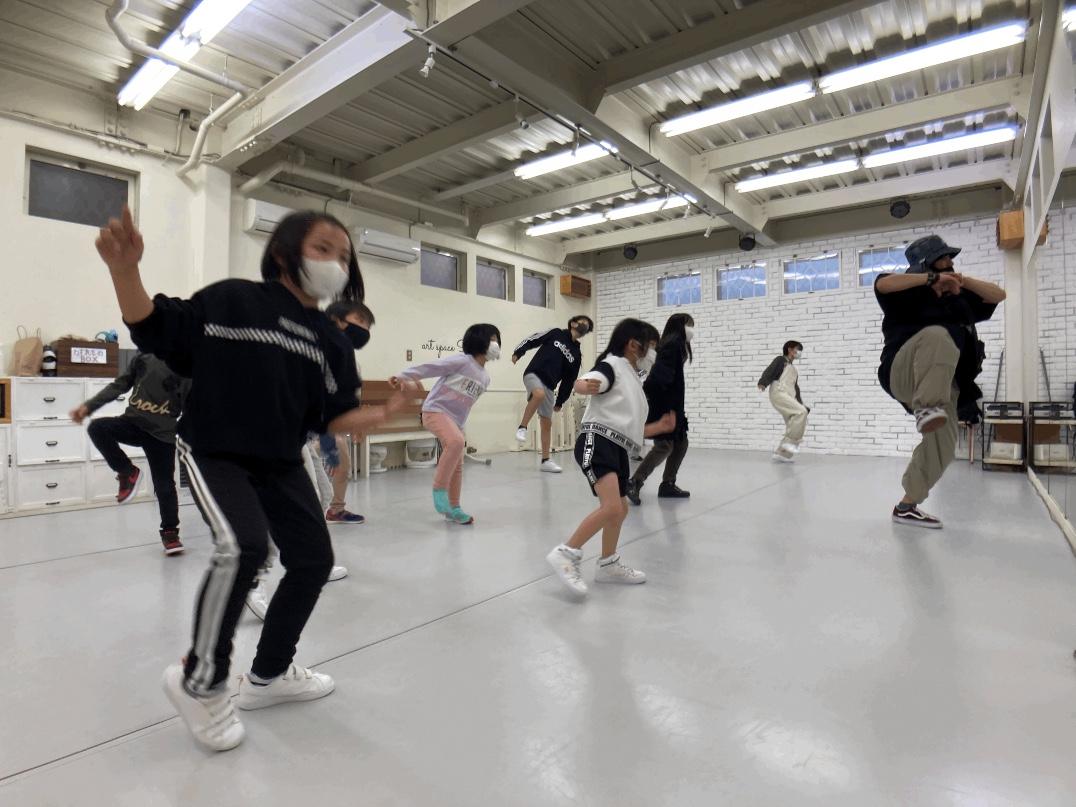 荒川区田端の少人数制、総合ダンススクール「art space SARA Dance Studio」 TAKUMIクラス