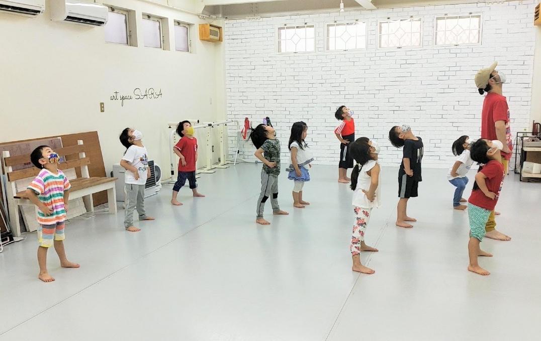 荒川区田端の少人数制、総合ダンススクール「art space SARA Dance Studio」 石田顕慈クラス