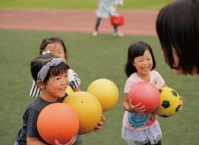 バルシューレ|あらゆるスポーツの入り口となるボール遊び教室 ストーリーズ井の頭公園校