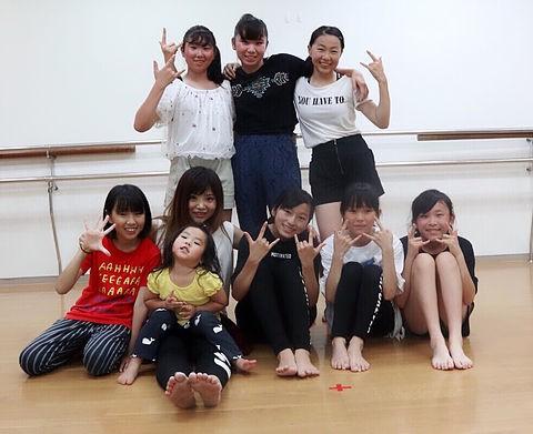 HIPHOPダンス教室 AIMI DANCE LIPSTICK 宮前平スタジオ①