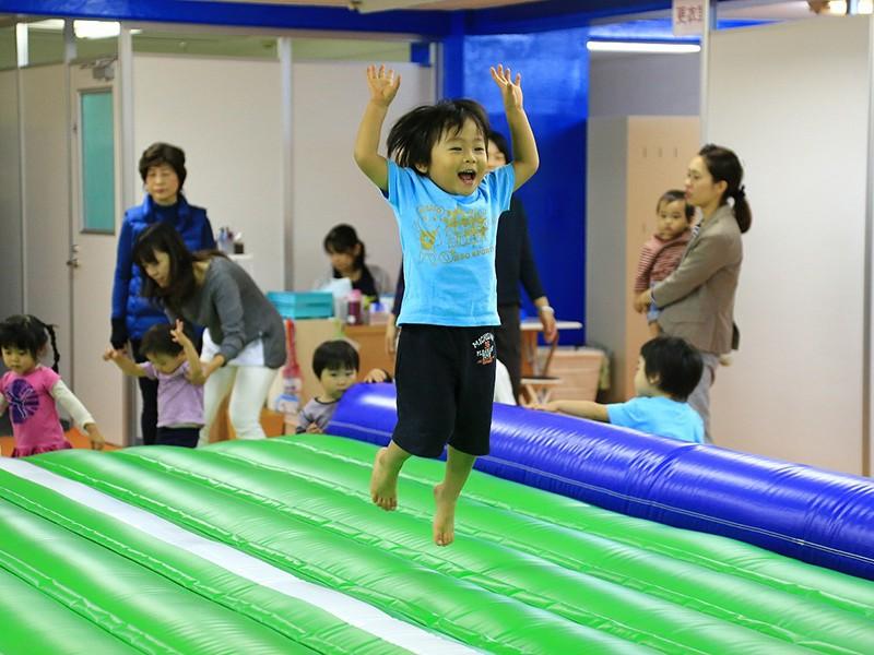 できたっ!!の笑顔がたくさん 体操教室「ジム オルソ」 石神井公園店