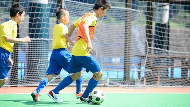 プロコーチが教える「明光サッカースクール」 明光キッズ石神井公園校【水曜日】