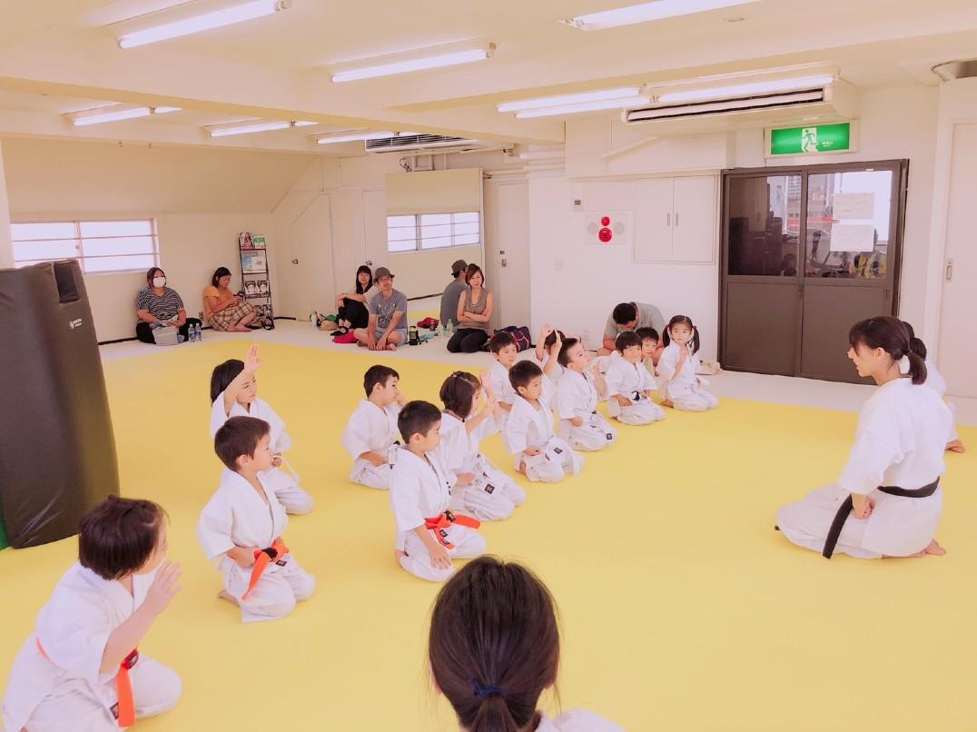 【女流空手家】キッズ・ビギナーにやさしい空手 初台・幡ヶ谷教室