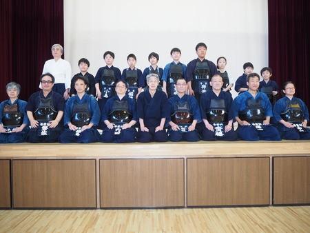 剣道教室 青葉館道場 江東区立第二亀戸小学校・体育館