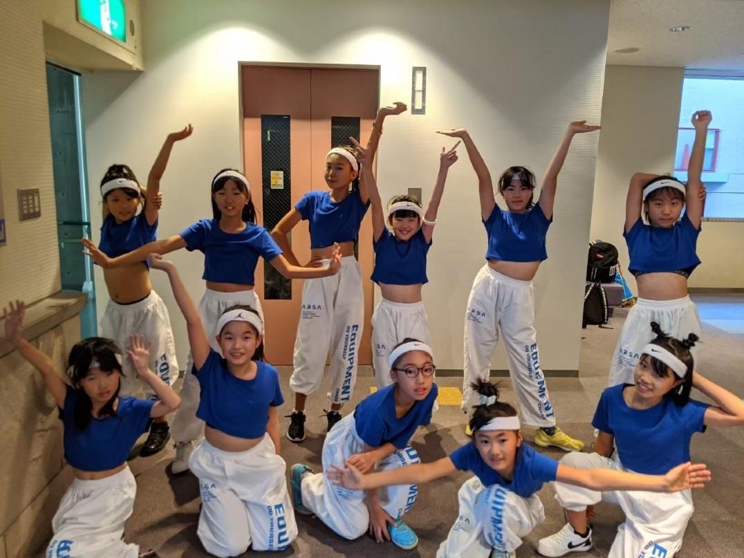 キッズダンスチーム「ホワイトエンジェル(white-angel)」 伊興地域学習センター
