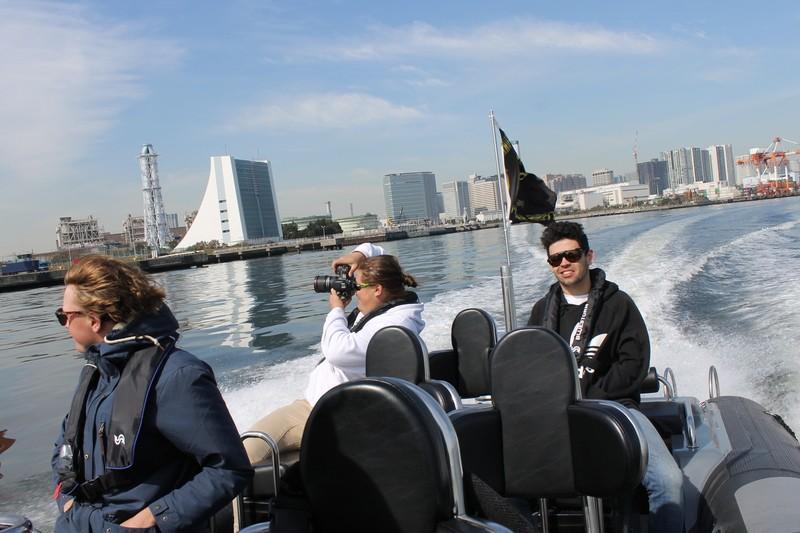 ドリームクルージング・グリランド東京RIBツアー 越中島桟橋