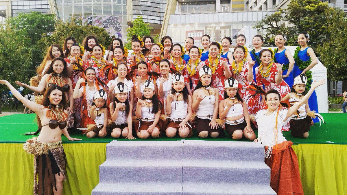 フラダンス・タヒチアンダンス教室 Aute24 六本木スタジオ