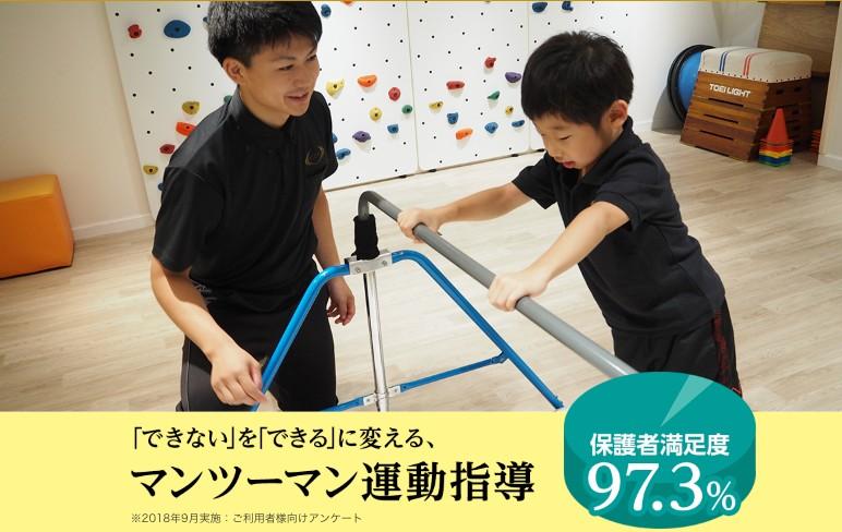 マンツーマン運動指導!RIZAP KIDS(ライザップキッズ) 田園調布店