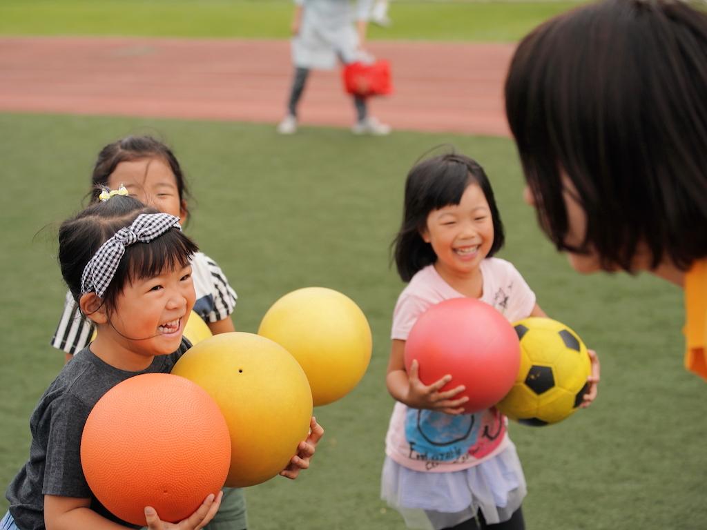 ドイツで人気のボール運動遊び教室「バルシューレ」 東京ドームシティ