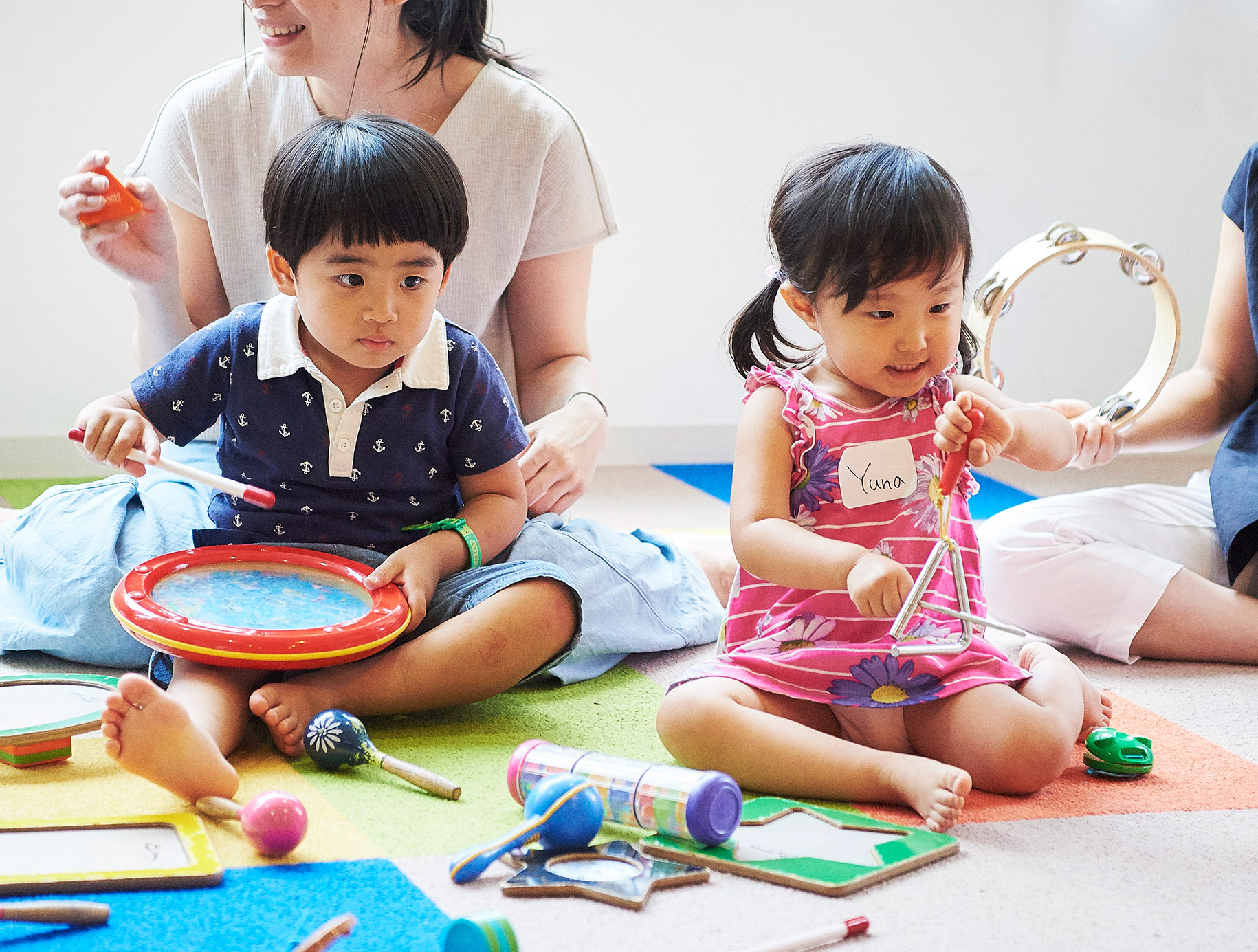 0歳からの英語音楽プログラム〜 Sukusuku music together 〜 三鷹クラス