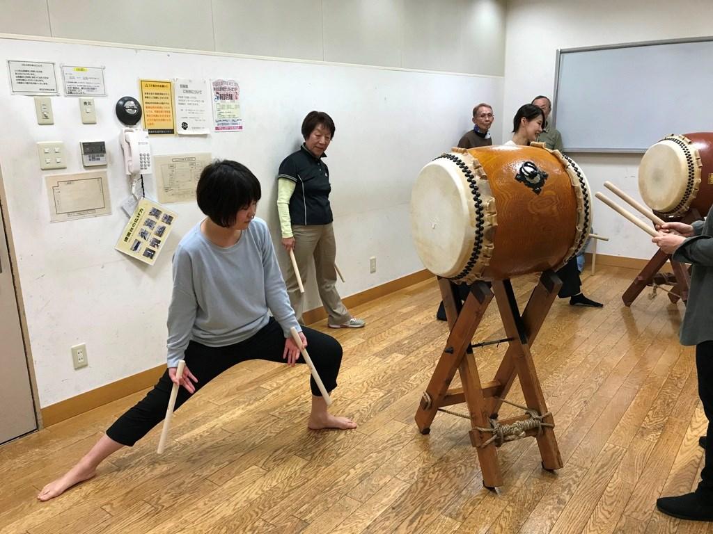 町田八丈太鼓教室 109教室