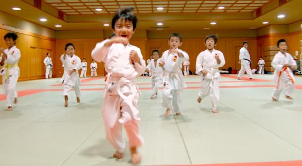 東京空手倶楽部 和泉小学校体育館