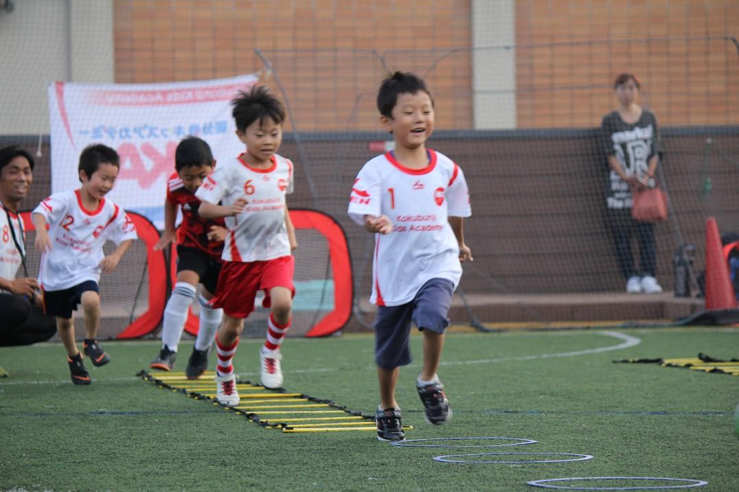 国分寺キッズアカデミー 幼児から中学生向けサッカースクール