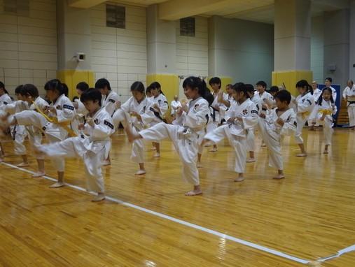 少林寺拳法 中央月島スポーツ少年団 月島スポーツプラザ