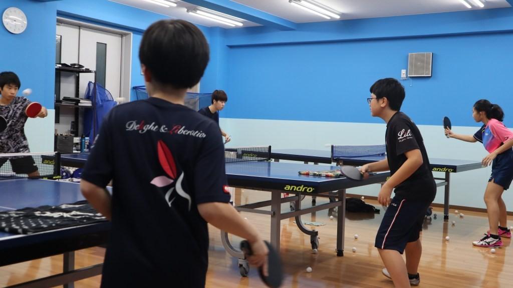 神楽坂の卓球教室「Lili卓球スタジオ」