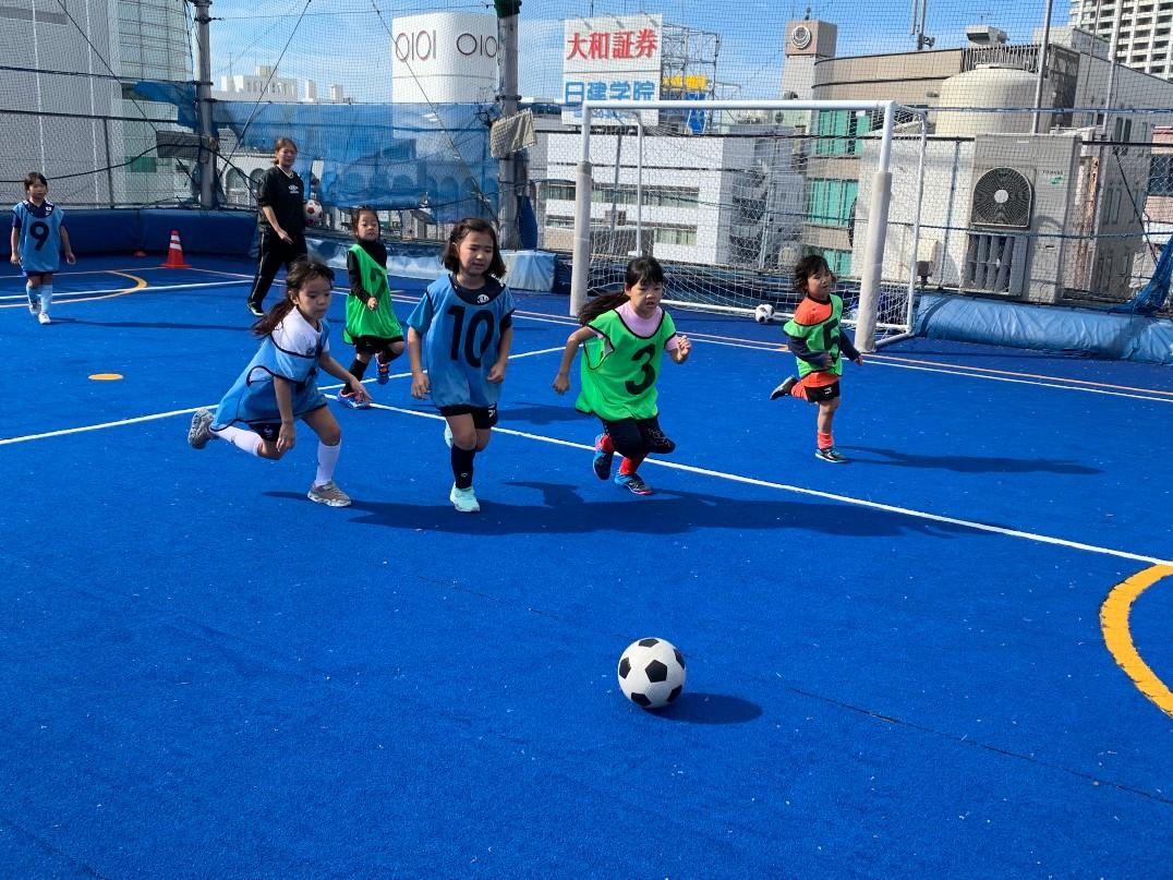 なでしこサッカークラス「Una Primavera FC Girls(ウナ・プリマヴェーラ・フットボールクラブ・ガールズ)」