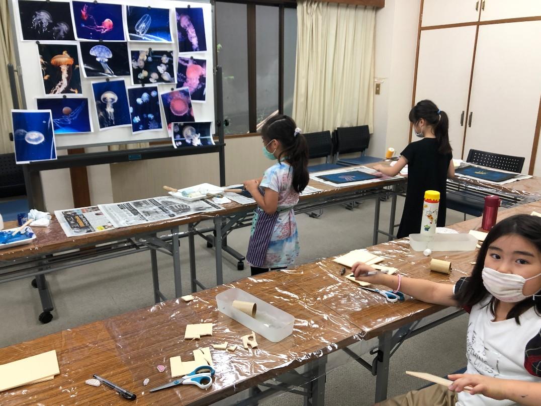 放課後ワークショップ 三宿神社 社務所
